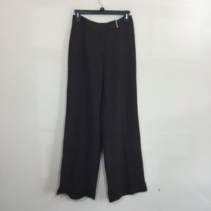 LOFT by Ann Taylor Size 2 Brown Cuffed Lined Pants